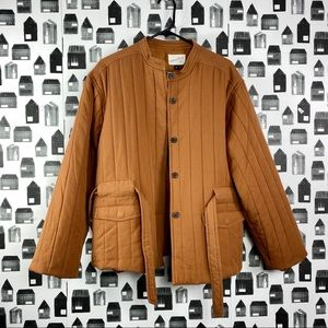Universal Thread NWT Rust Colored Button Down Coat